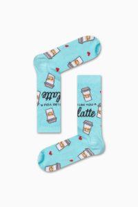 Κάλτσα-I-like-you-a-latte-Χωρίς-Ραφές-Vtexsocks