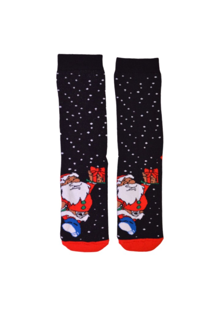 Κάλτσα Ho Ho Ho Santa Gifts Χωρίς Ραφές MadSocks