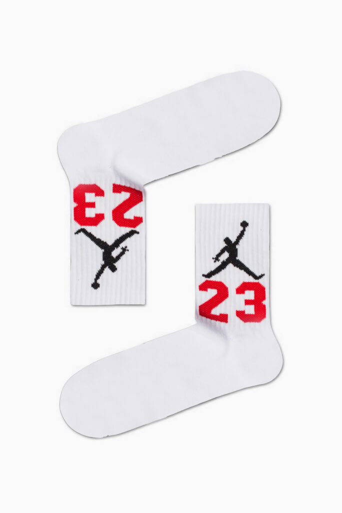 Jordan 23 White Socks